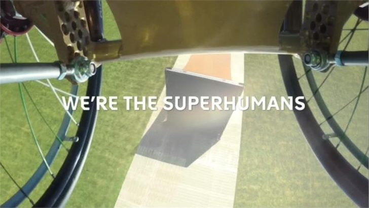 We're The Superhumans – Channel 4 launch Rio Paralympics 2016 promo