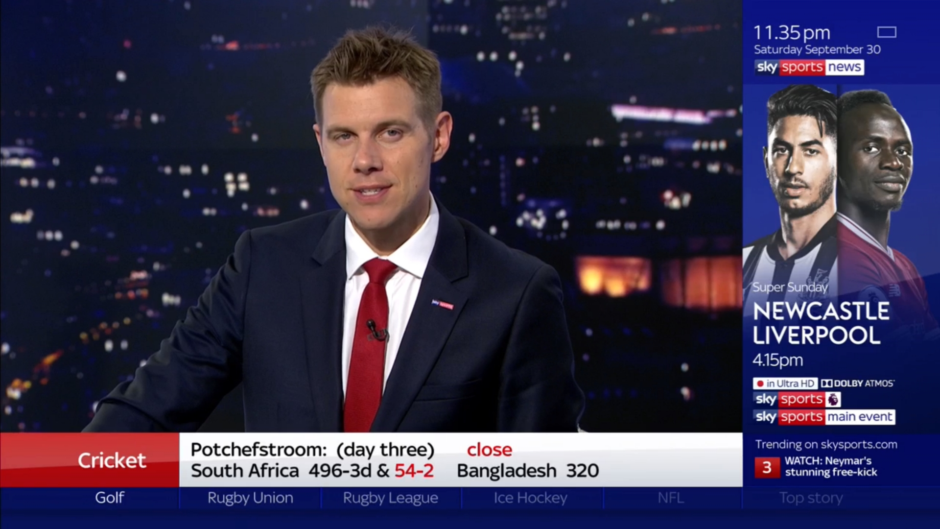 Tony Wrighton Sky Sports News Presenter (1)