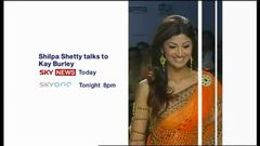 Shilpa Shetty Interview – Sky News Promo 2007