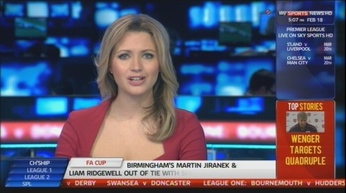 Hayley McQueen - Sky Sports News Presenter (4)