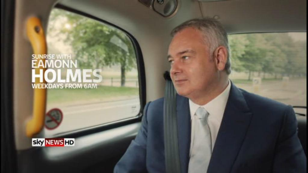 Sunrise with Eamonn Holmes – Sky News Promo 2012