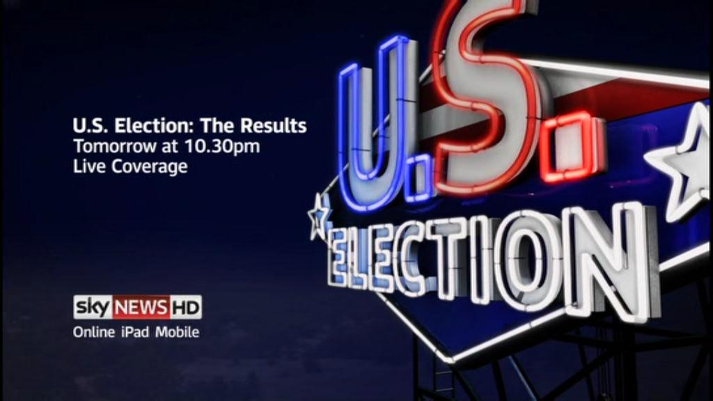U.S Election – Sky News Promo 2012