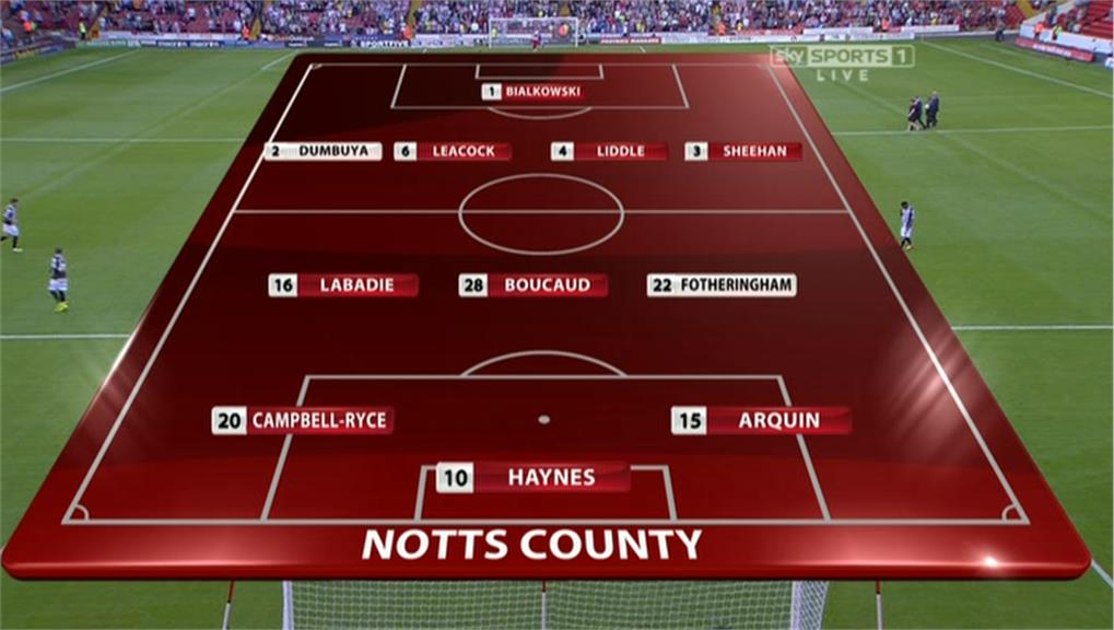 Sky Sports Football League Graphics 13/14