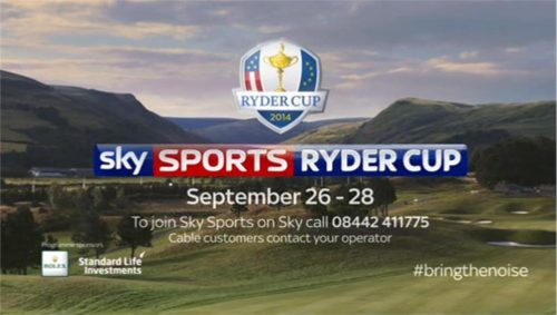 Ryder Cup 2014 – Sky Sports Promo #BringTheNoise