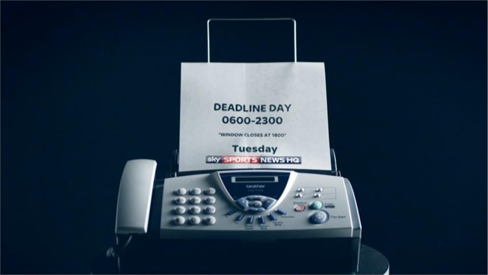 Transfer Deadline Day (Fax Machine) – Sky Sports News HQ Promo